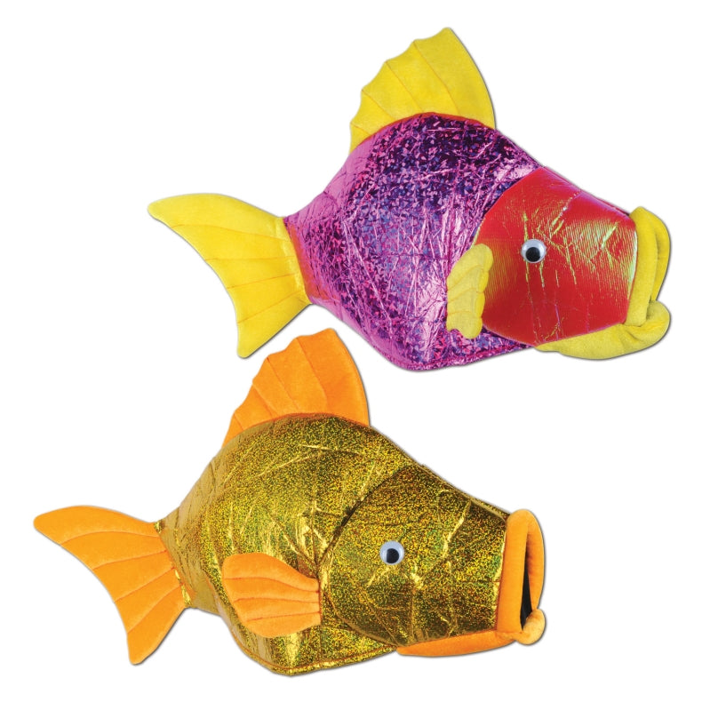 Fish Hats Each - Party Savers