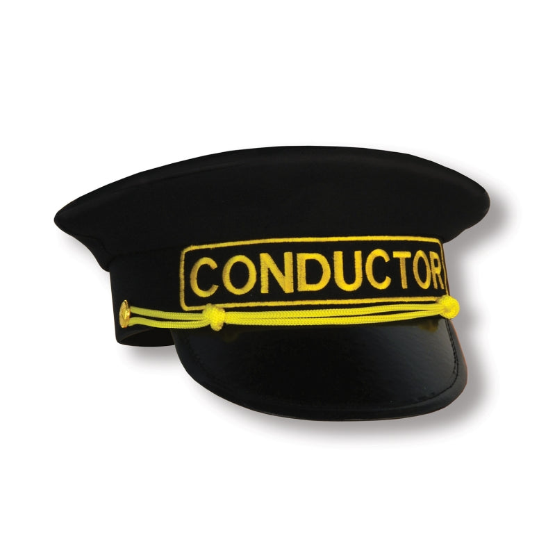 Conductor Hat Each - Party Savers