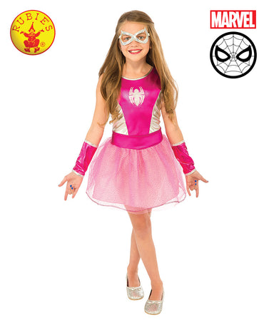 Girls Costume - Spider-Girl Pink Tutu Dress