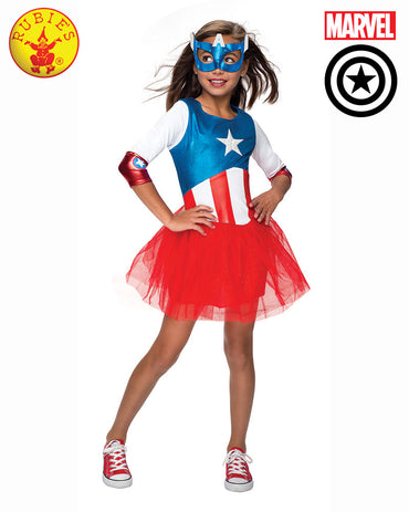 Girls Costume - American Dream Metallic Dress