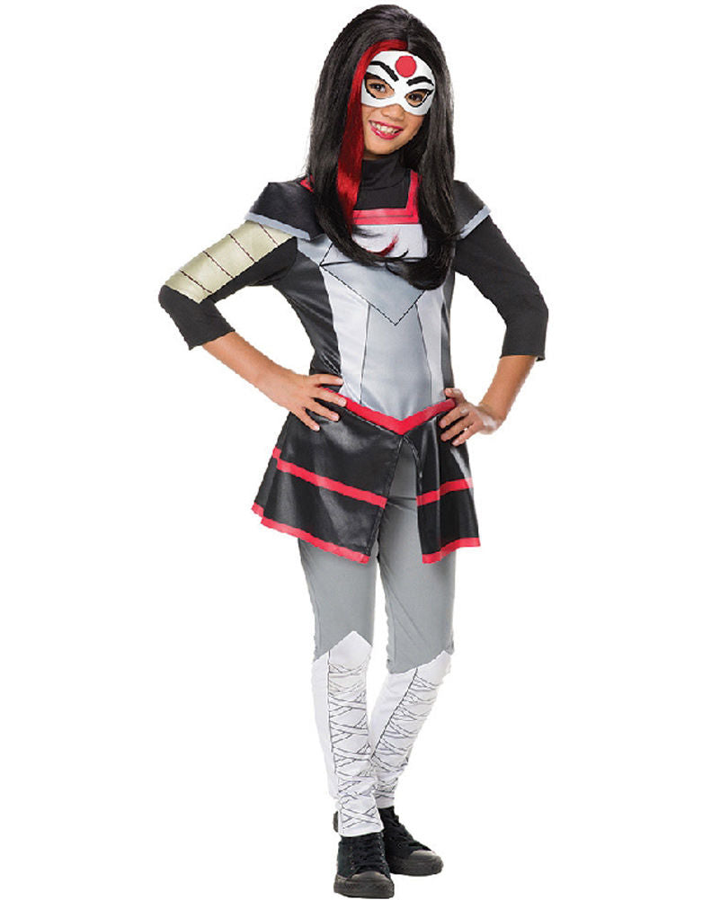Girls Costume - Katana DC Super Hero Girl Deluxe