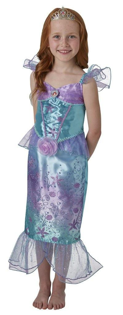 Girls Costume - Ariel Rainbow Deluxe