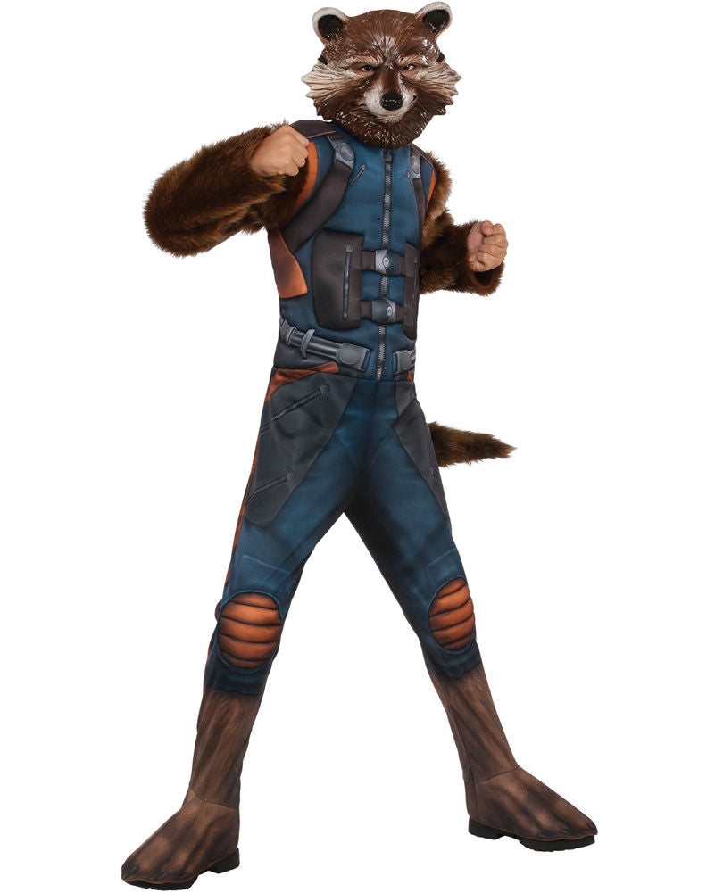 Boys Costume - Rocket Raccon Deluxe