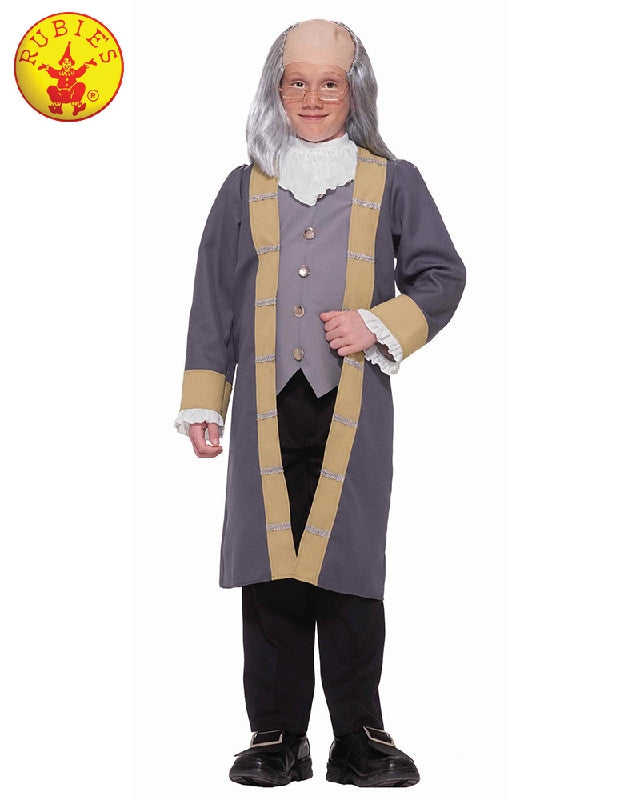 Boys Costume - Benjamin Franklin Classic
