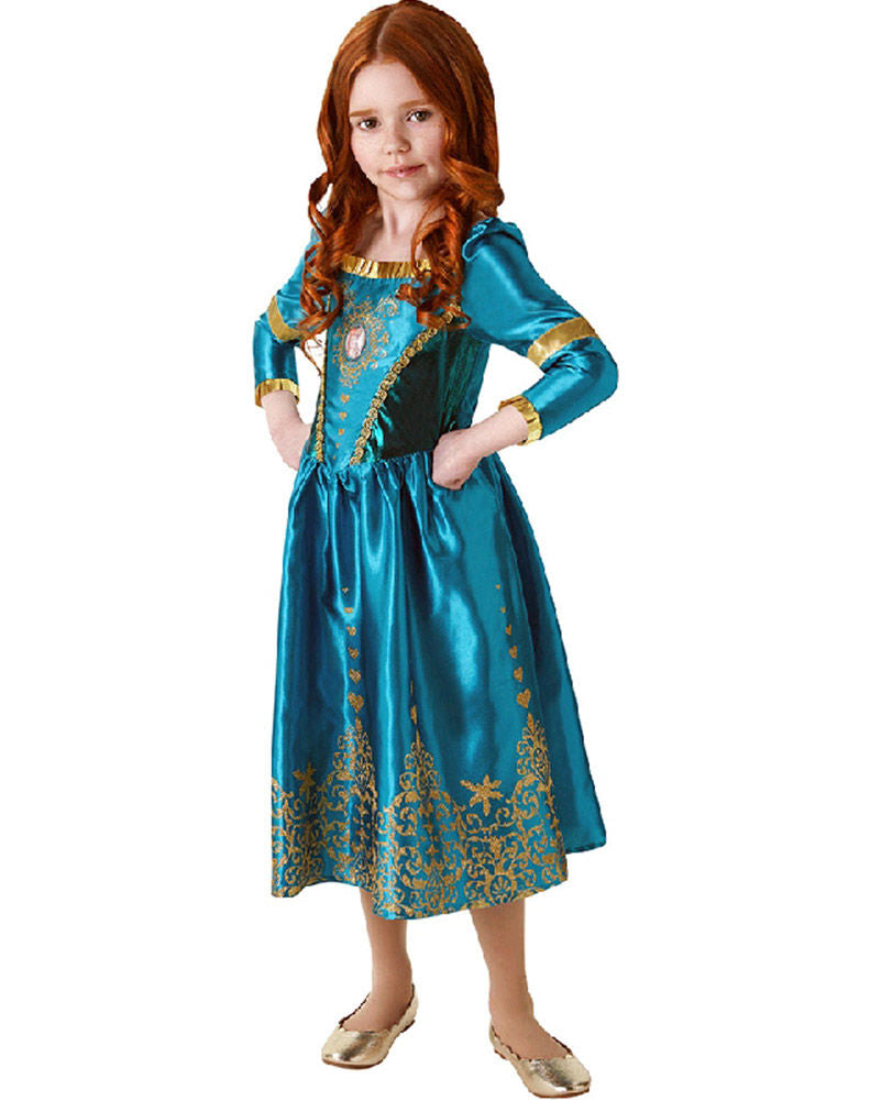 Girls Costume - Merida Deluxe