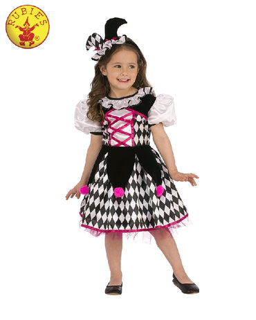 Girls Costume - Jester Girl
