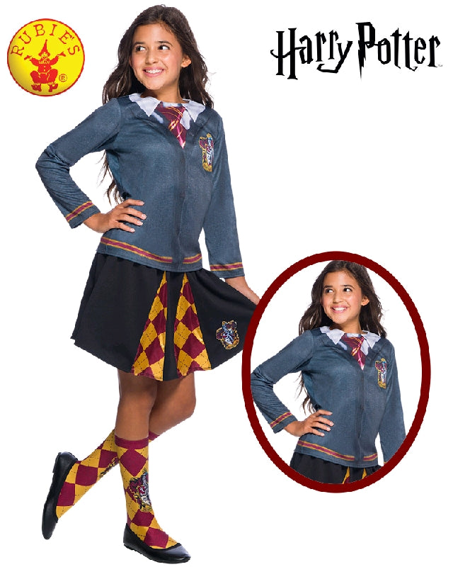 Girls Costume - Gryffindor Top