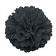 Black Puff Decoration 40cm