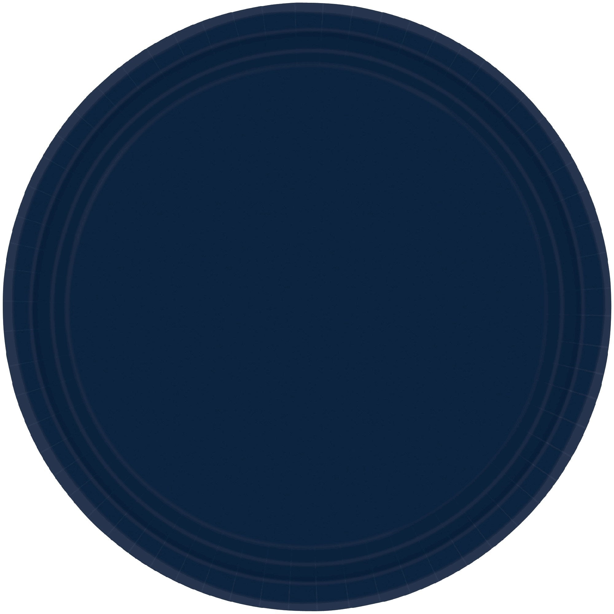 Bright Royal Blue Round Paper Plates 23cm 20pk