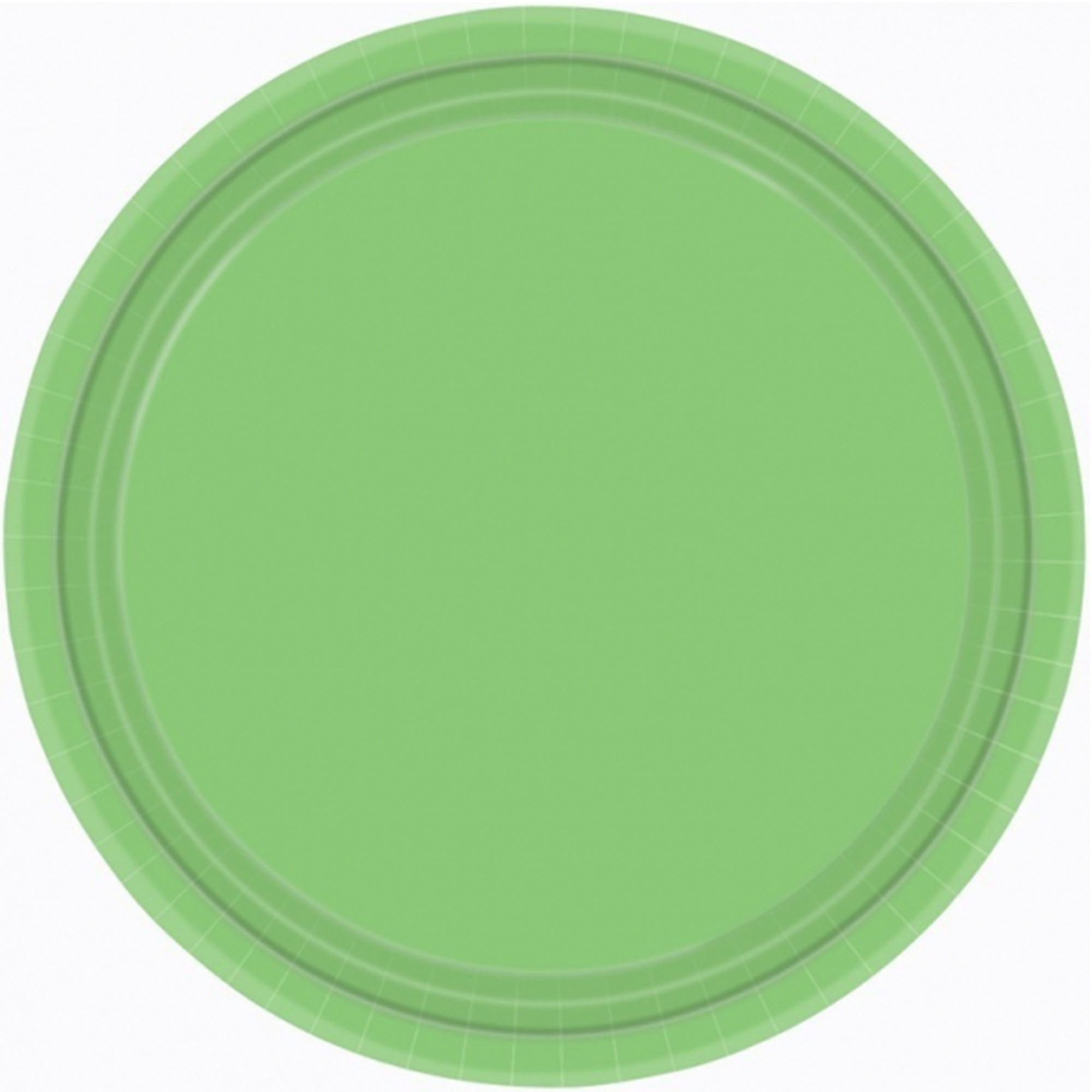 Kiwi Round Paper Plates 23cm 20pk - Party Savers