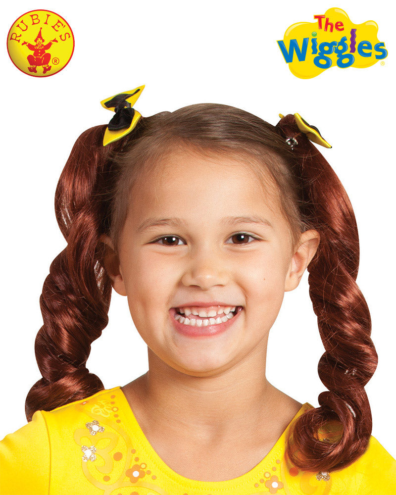 Emma Wiggle Pigtails With Bows