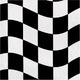 Black & White Check Luncheon Napkins 18pk