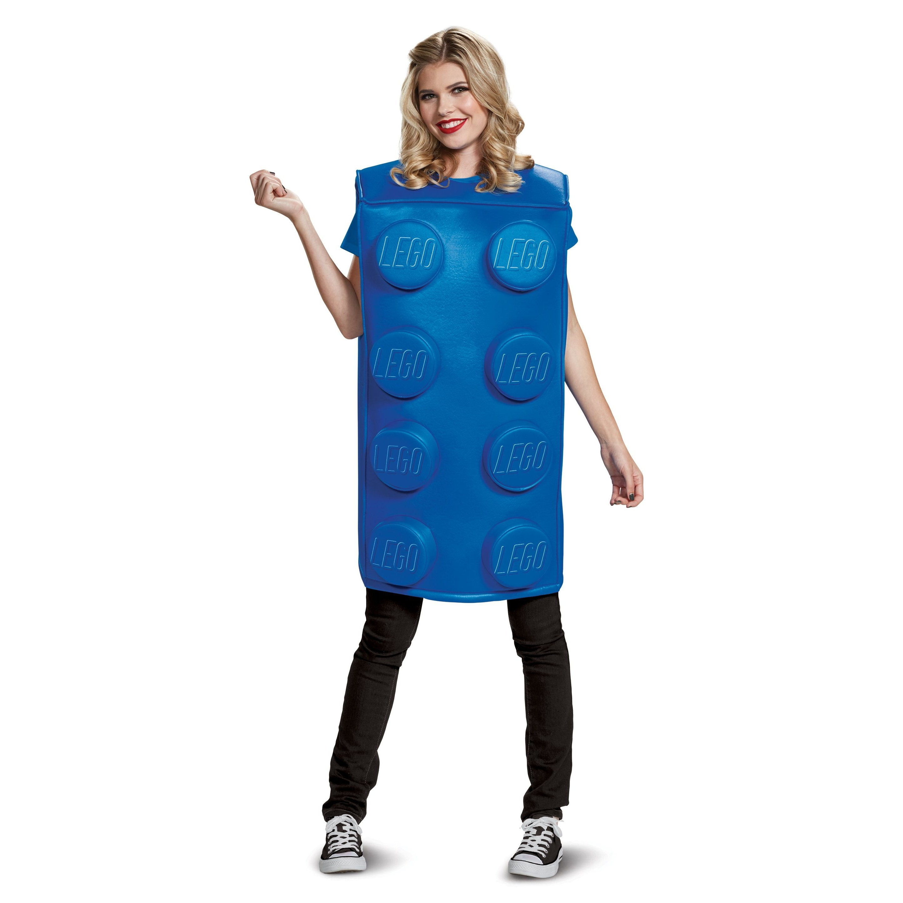 Adult Costume - Blue Brick Costume - Party Savers