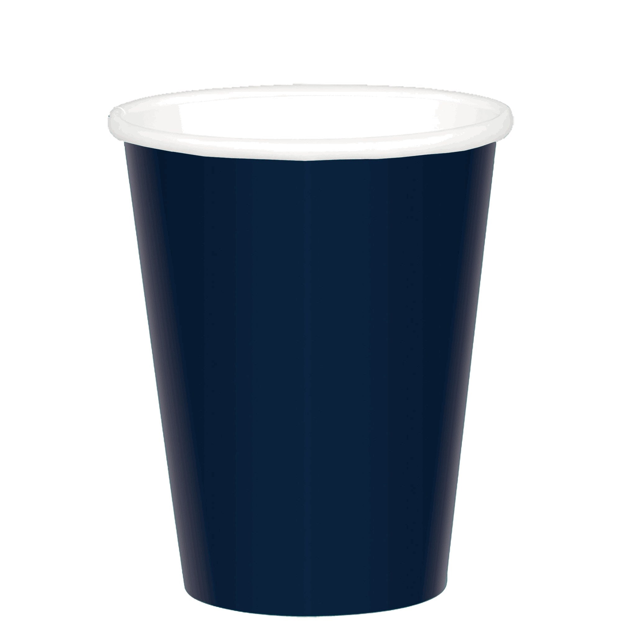 Navy Paper Cups 266ml 20pk - Party Savers