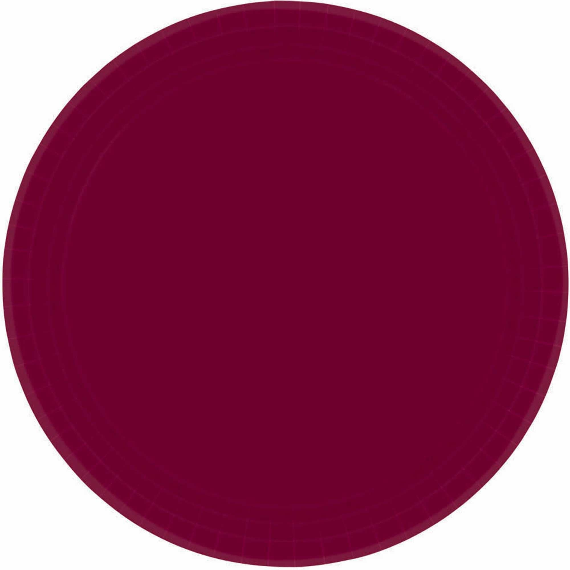 Berry Round Paper Plates 26cm 20pk - Party Savers