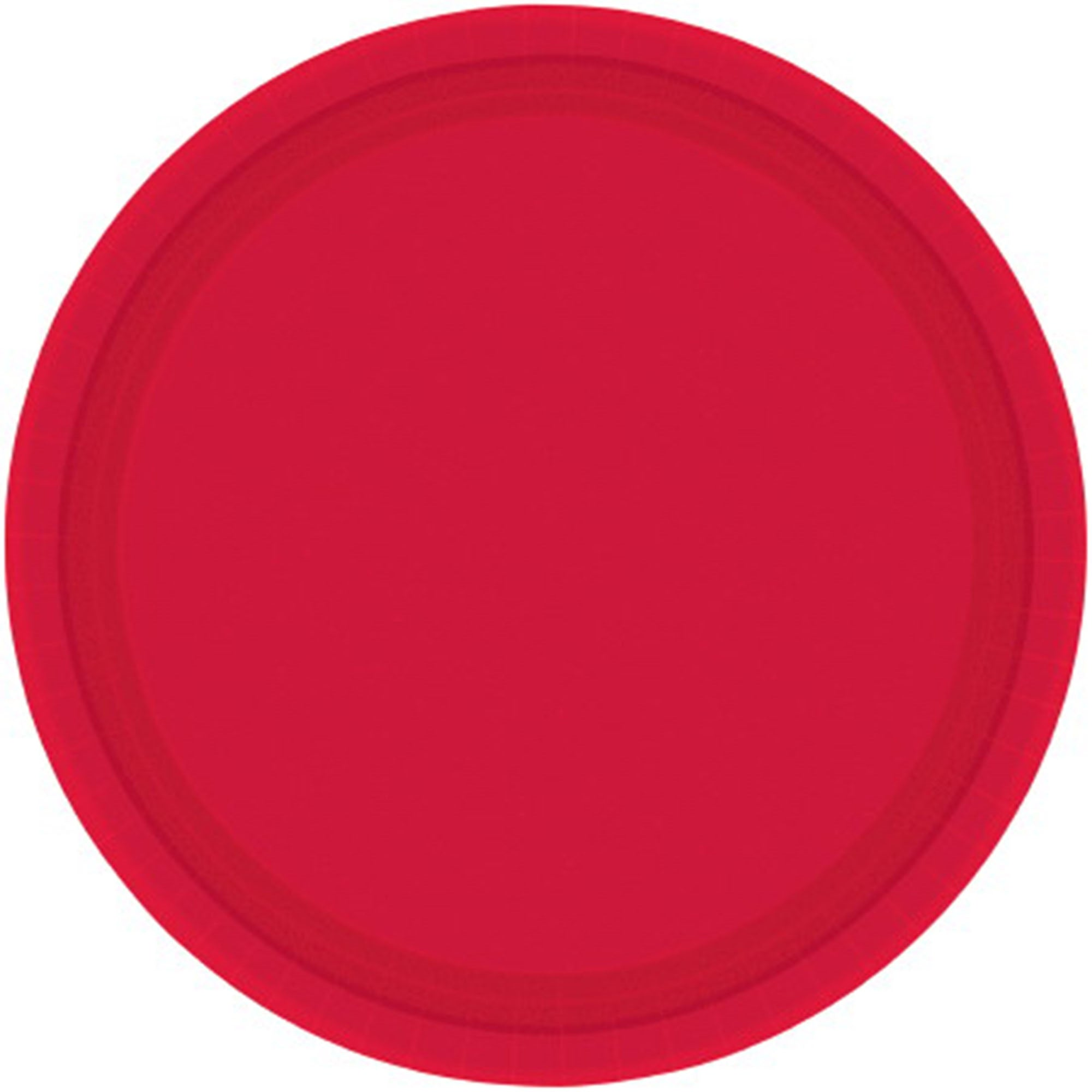 New Purple Round Paper Plates 26cm 20pk - Party Savers