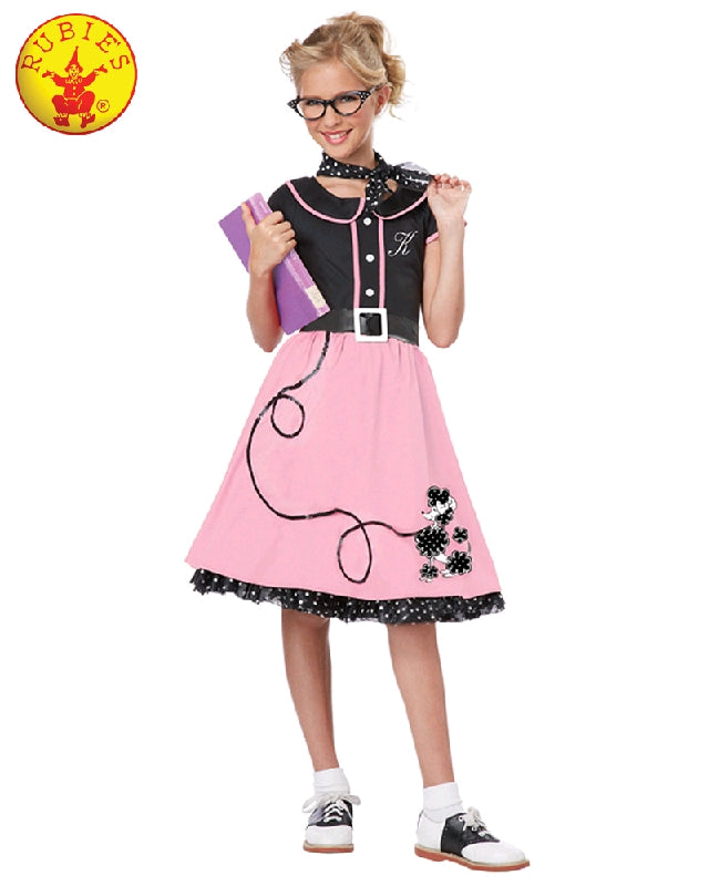 Girls Costume - 50's Bopper Girl
