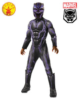Boys Costume - Black Panther Super Deluxe Battle