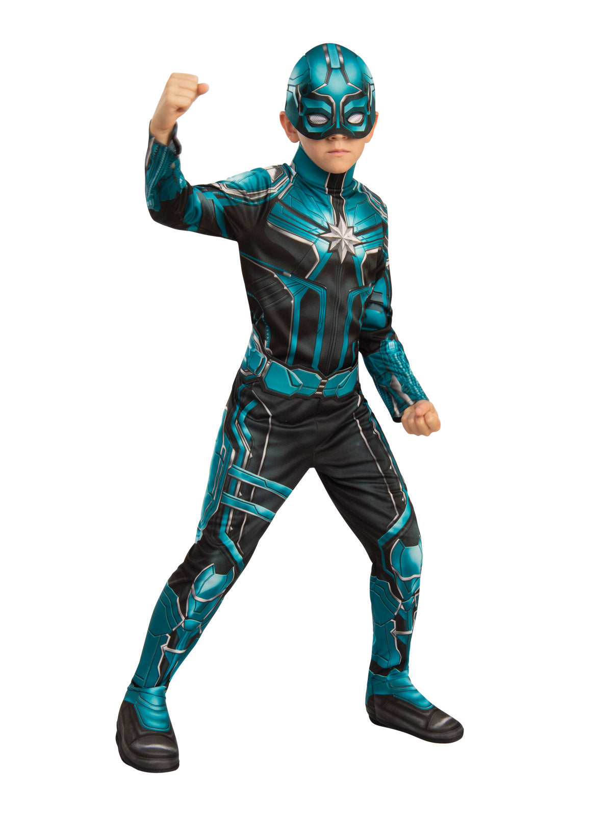 Boys Costume - Yon Rogg Classic Captain Marvel - Party Savers