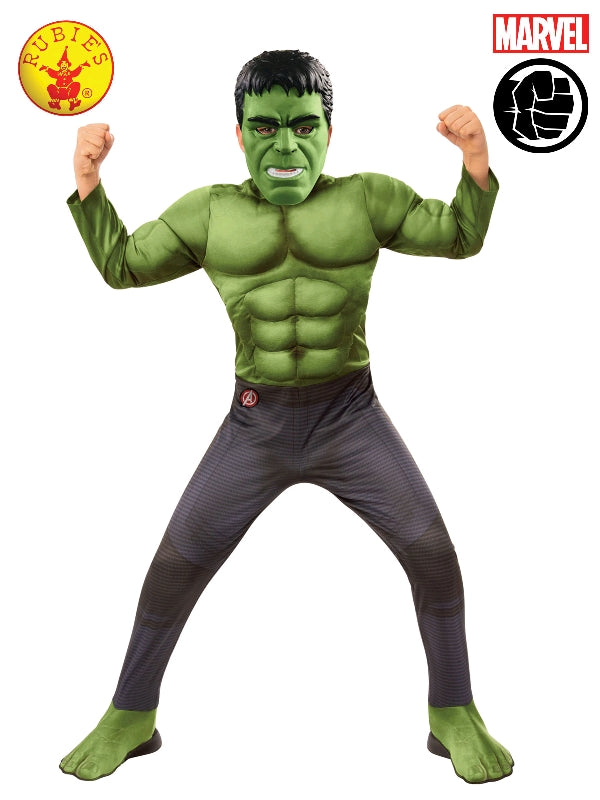 Boys Costume - Hulk Deluxe - Party Savers