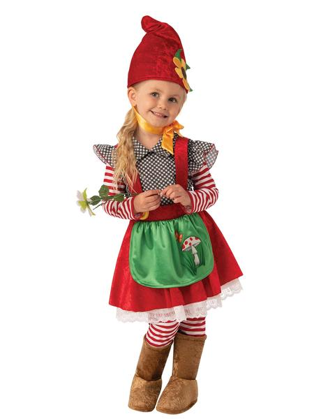 Girls Costume - Garden Gnome Girl - Party Savers