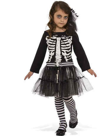 Girls Costume - Little Skeleton