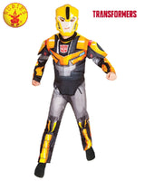 Boys Costume - Bumblebee Fusion Transformers Robots In Disguise