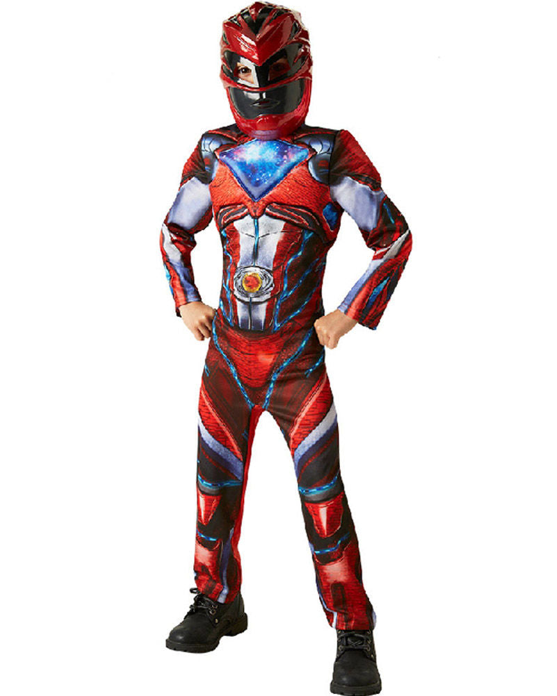 Boys Costume - Power Rangers Deluxe