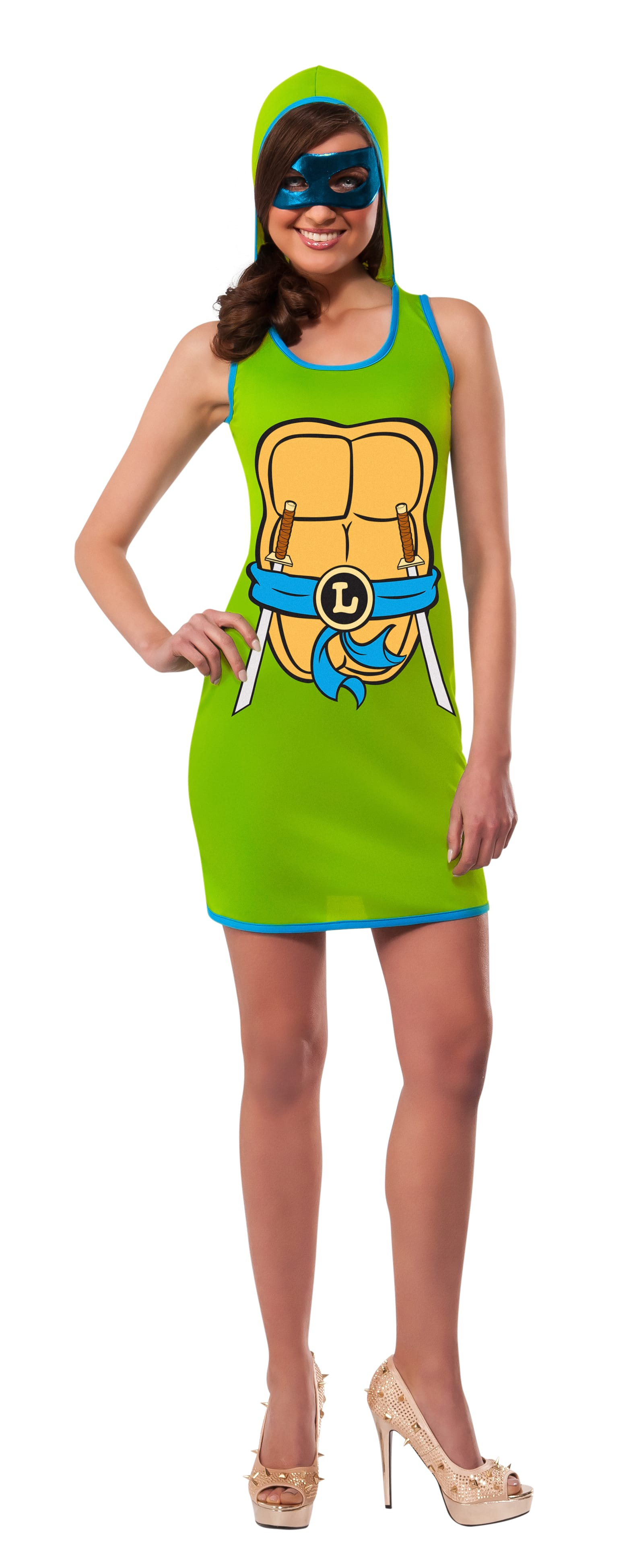 Women's Costume - Tmnt Leonardo Tank Dress