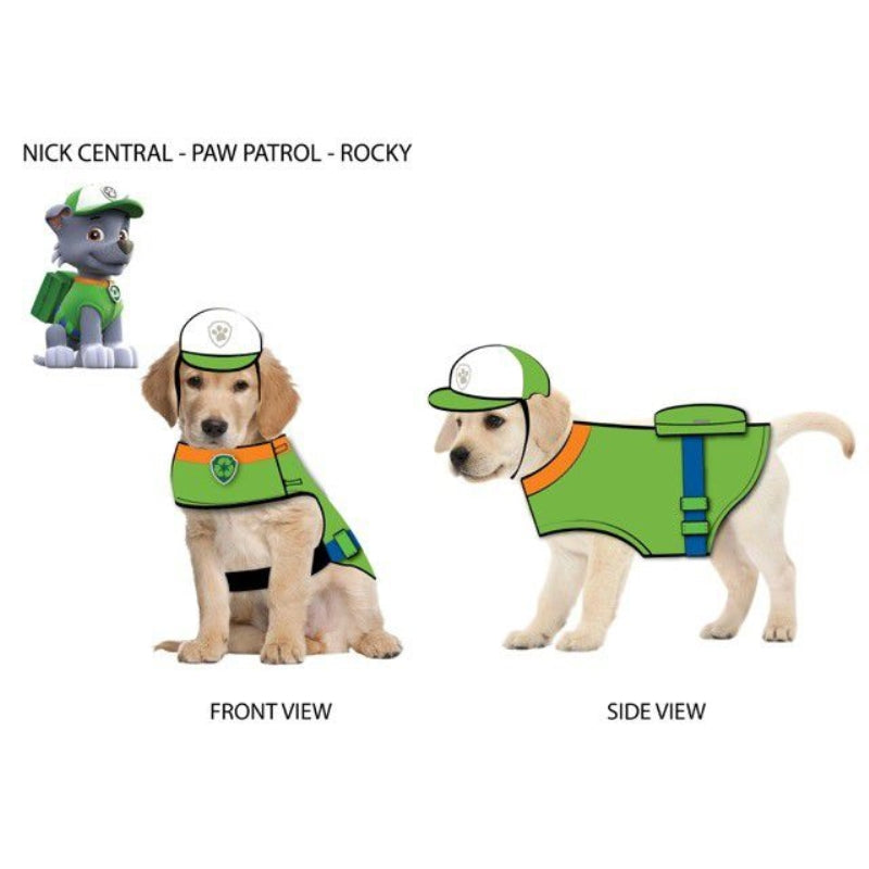Paw Patrol Dog Hat Rocky-Green Large
