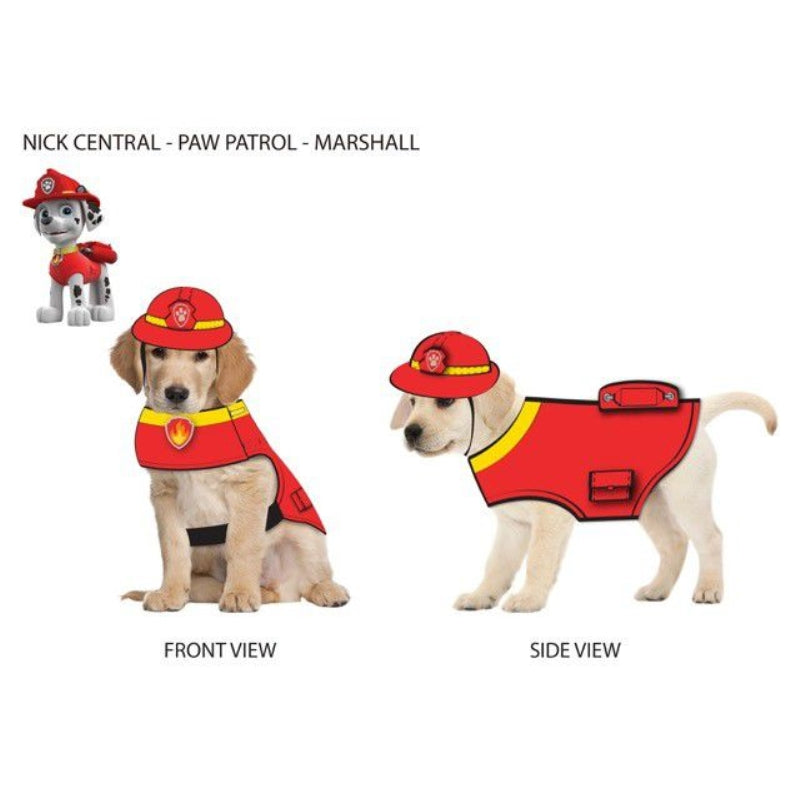 Paw Patrol Dog Hat Marshall-Red Large - Party Savers