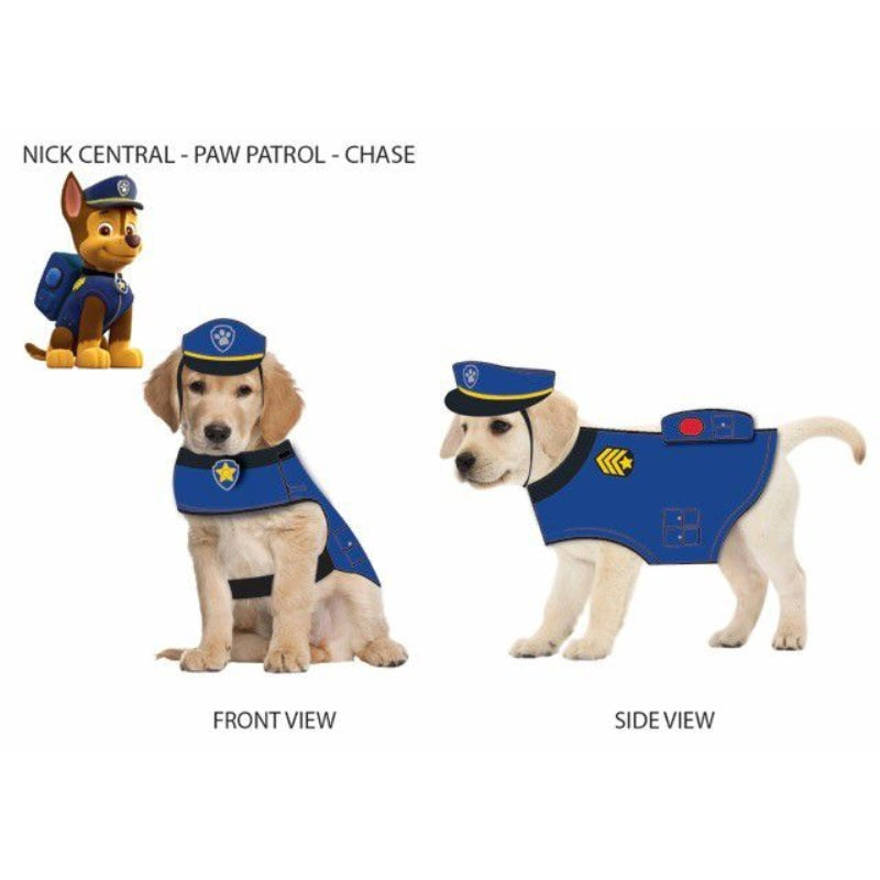 Paw Patrol Dog Hat Chase-Blue Small