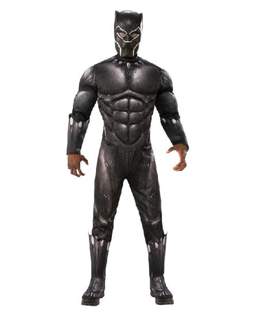 Men's Costume - Black Panther Deluxe
