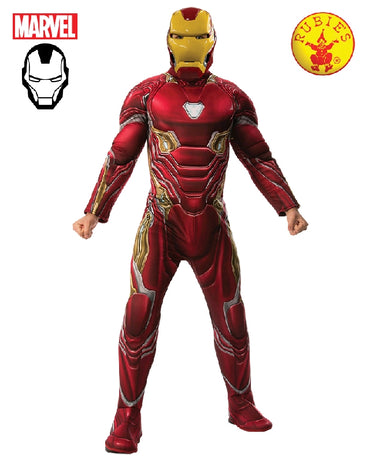 Men's Costume - Iron Man Deluxe