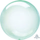 Crystal Clearz Petite Green Round Balloon - Party Savers