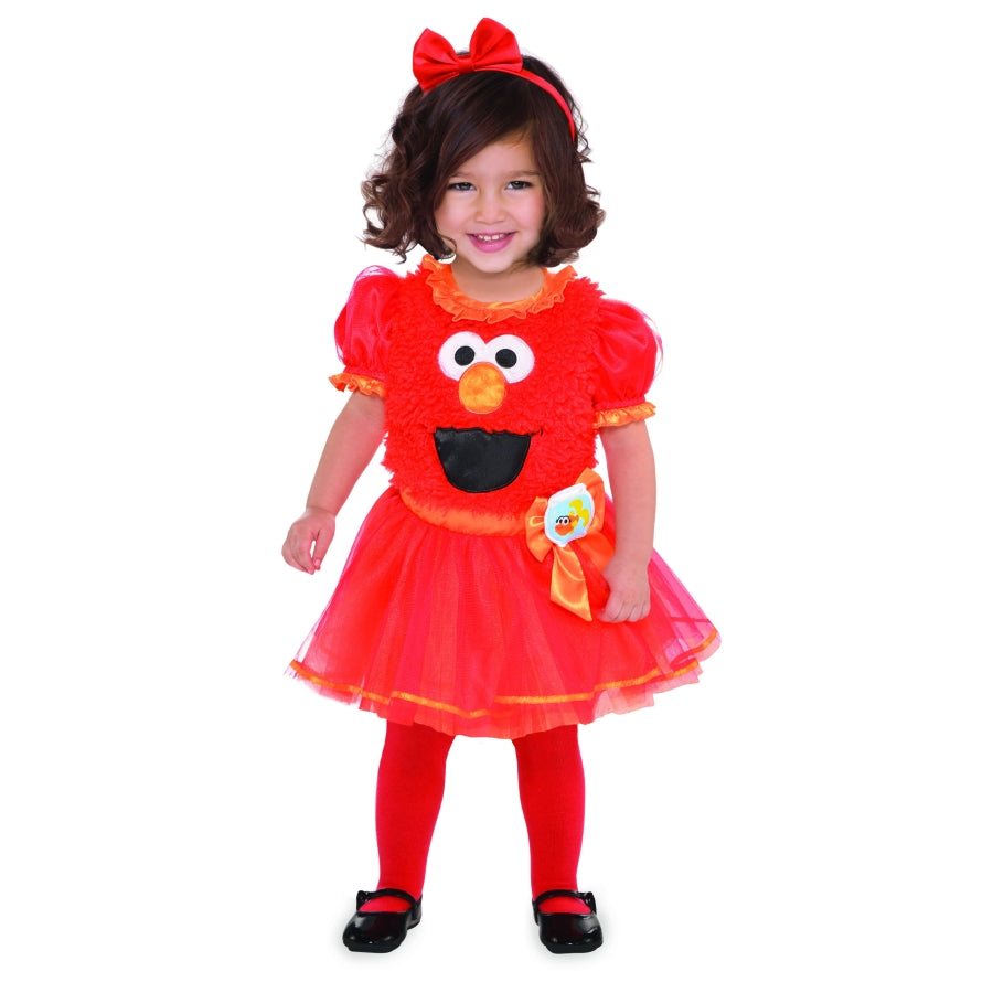 Costume Elmo Girl 18-24months - Party Savers