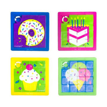 Favors Slide Puzzles 10pk - Party Savers