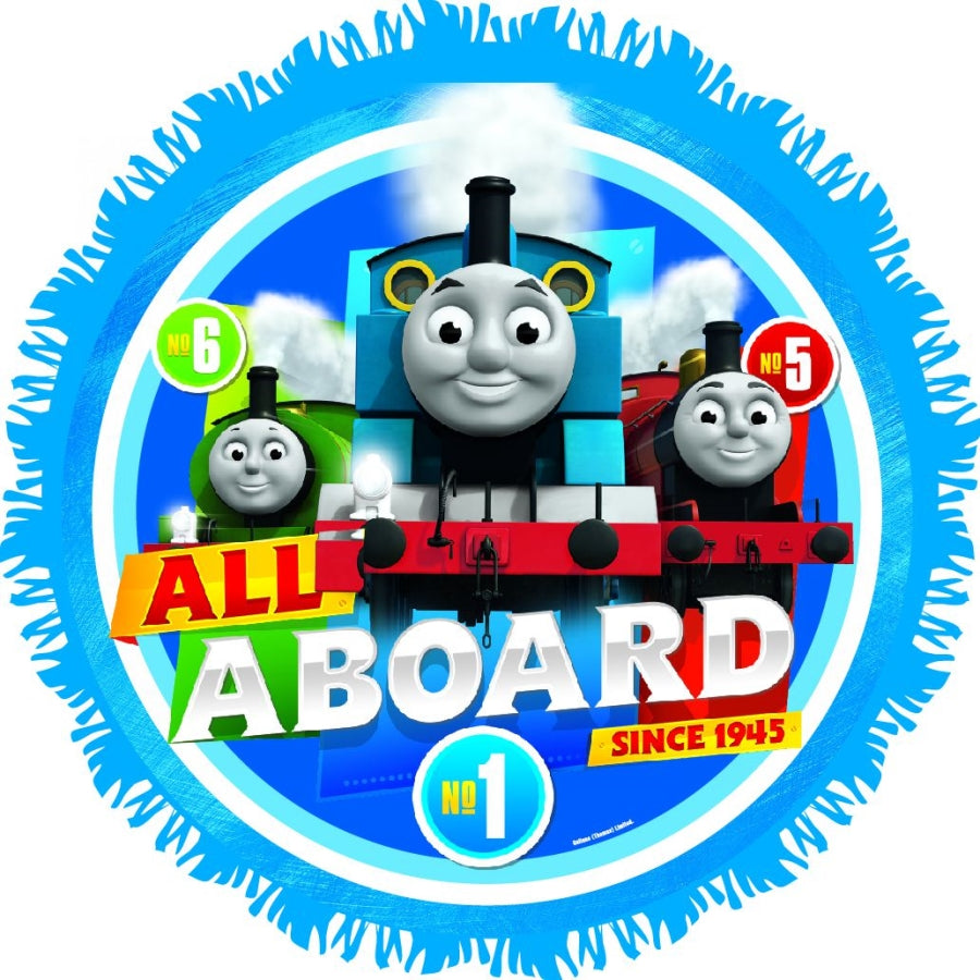 Thomas All Aboard Pinata - Party Savers