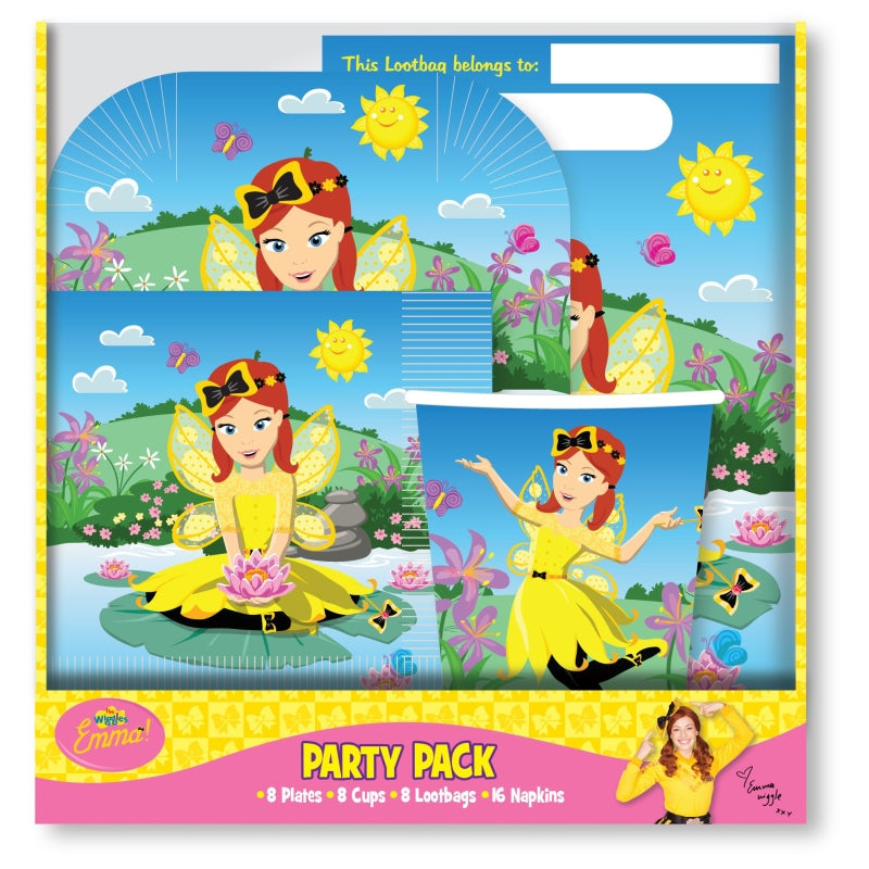 The Wiggles Emma Party Pack for 8