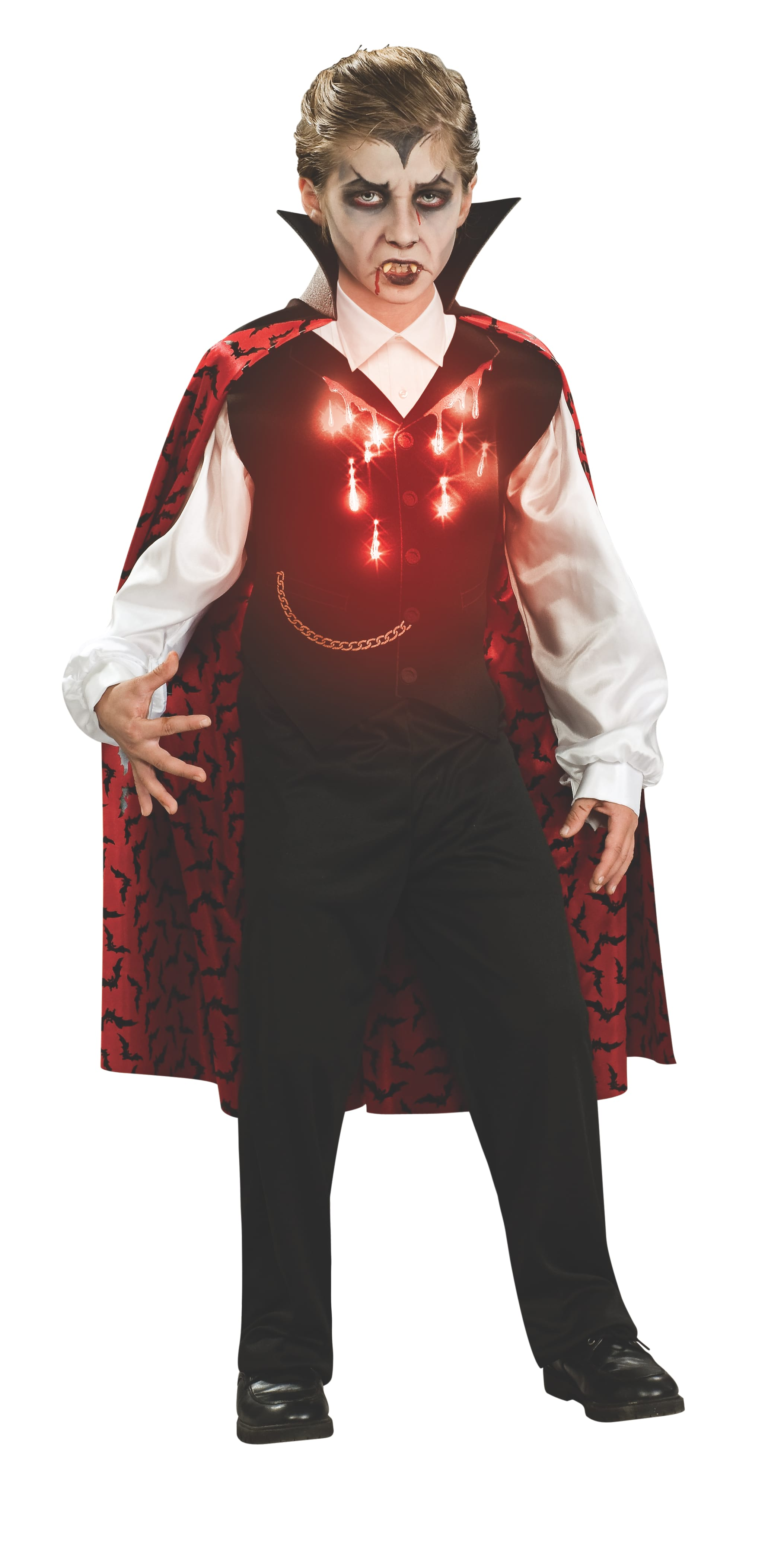 Boys Costume - Vampire Light Up