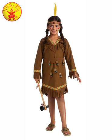 Girls Costume - Native American Girl - Party Savers