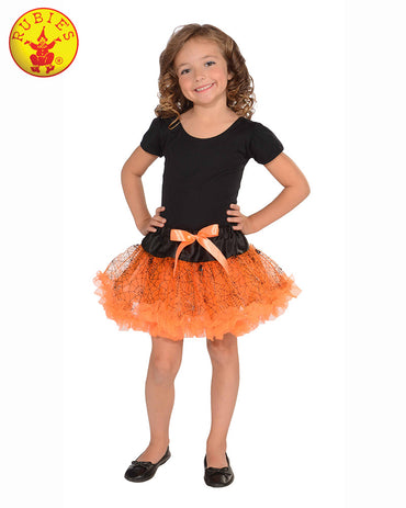 Orange Halloween Tutu Skirt