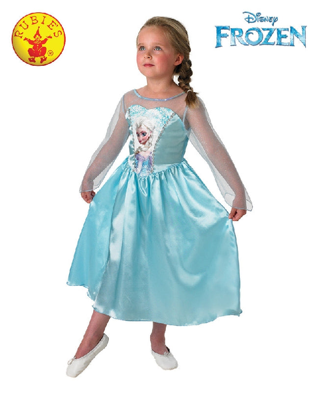 Girls Costume - Elsa Snow Queen Classic Gown