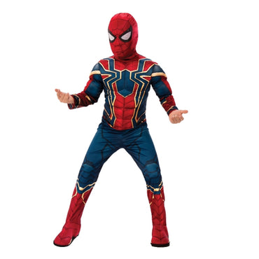 Boys Costume - Iron Spider Deluxe Avengers 4