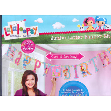 Lalaloopsy Add-An-Age Letter Banner