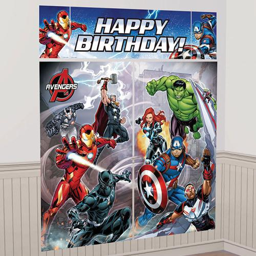 Avengers Epic Scene Setter Kit Happy Birthday