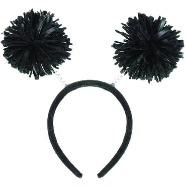 Black Pom Pom Headbopper - Party Savers