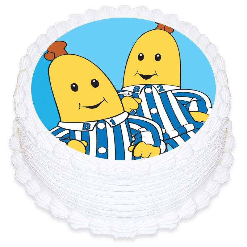 Bananas In Pyjamas Round Edible Icing Image 19cm