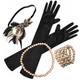 Rose Gold Deluxe Gatsby Kit - Party Savers