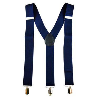 Blue Stretch Braces/Suspenders